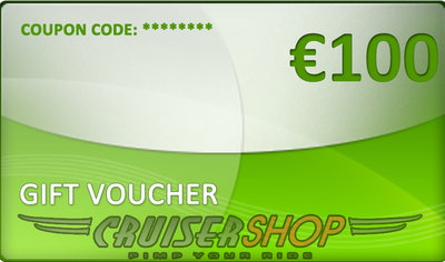 Cadeaubon Cruisershop 100 euro