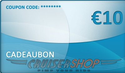 Gift voucher Cruisershop value 10 euro