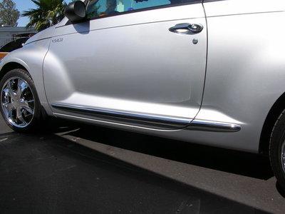 RVS deurstijlen cabrio
