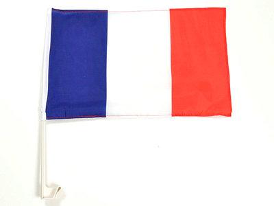 Car flag France