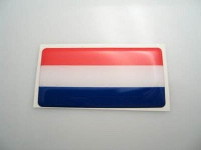 3D NL sticker 40x20mm