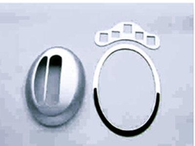 Chrome gear frame cover set