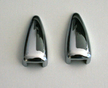 Windscreen washer caps Stainless steel