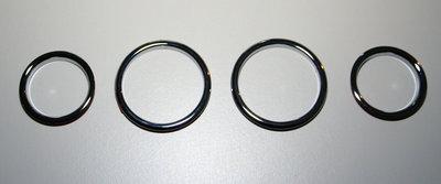 Stainless steel AC rings