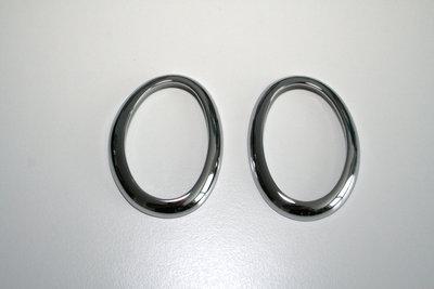 RVS zijknipperlicht ringen