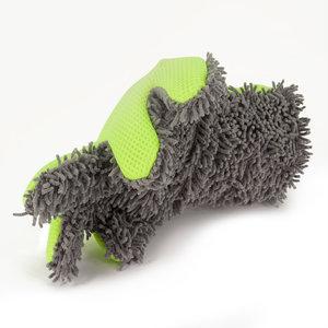 Auto washandschoen dubbelzijdig